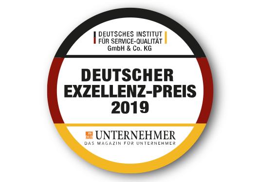 """Ausschreibung """"Deutscher Exzellenz Preis 2019"""""""